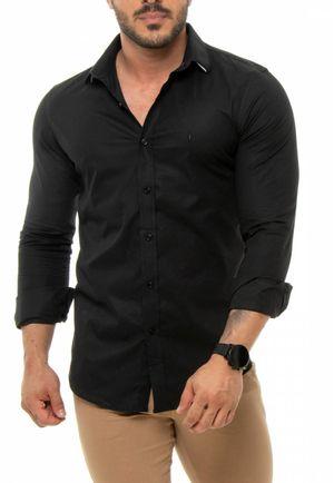 Camisa Básica Preta