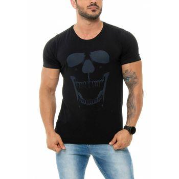 Camiseta Neon Skull