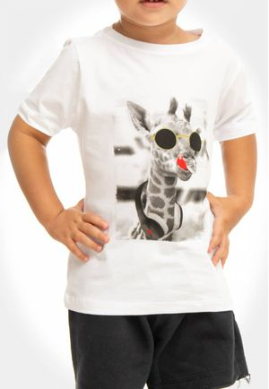 Camiseta Crazy Girafa