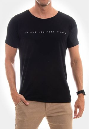 Camiseta Eu não sou todo mundo
