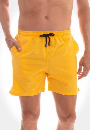 Short Swim Mescla Amarelo