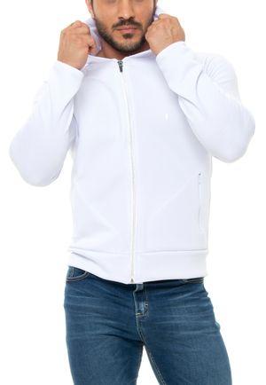 Casaco Neoprene Branco