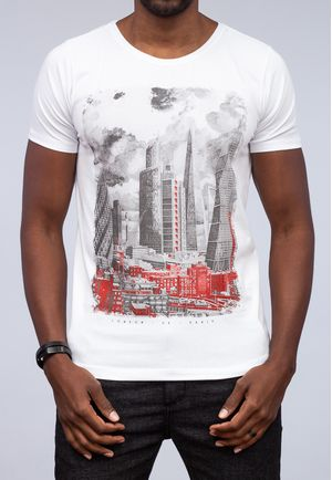 Camiseta London Skyline