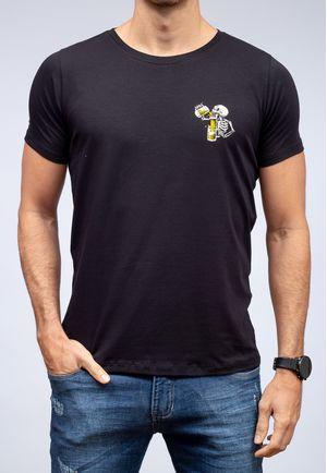 Camiseta Beer Skull