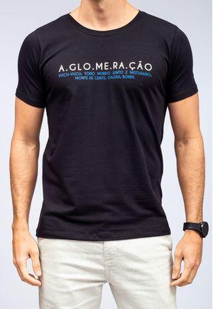 Camiseta Aglomeração