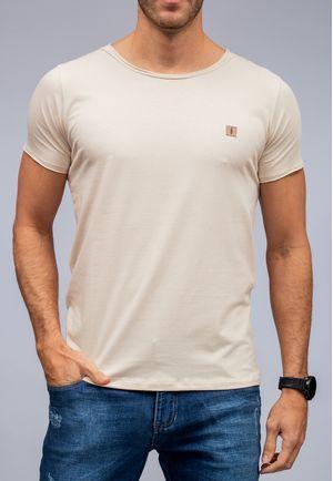 Camiseta New Basic Canoa Areia a Fio