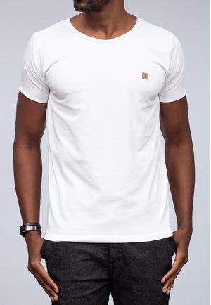 Camiseta New Basic Canoa Branca a Fio