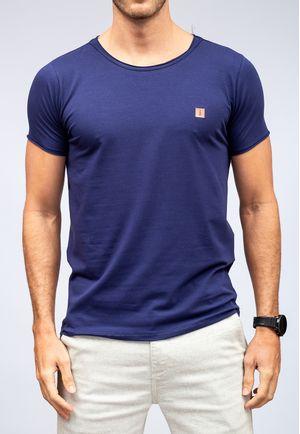 Camiseta New Basic Canoa Marinho a Fio