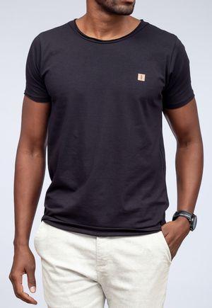 Camiseta New Basic Canoa Preta a Fio