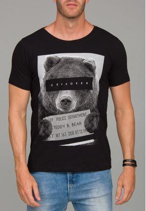 Camiseta Censored Bear