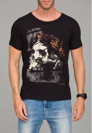 Camiseta Caveira Louros